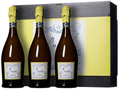 Cupcake Vineyards Trio Bubbly Wine Gift Box, 3 x 750 mL