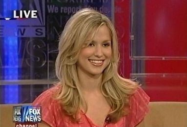 Anna Gilligan - Anna is currently a host at MeetTheBoss.TV and a news reporter for Fox News. This 29 year old is a frequent guest on the Fox News Channel late night talk show Red Eye with Greg Gutfeld and is also dating Steve Guttenberg (the guy from Police Academy).