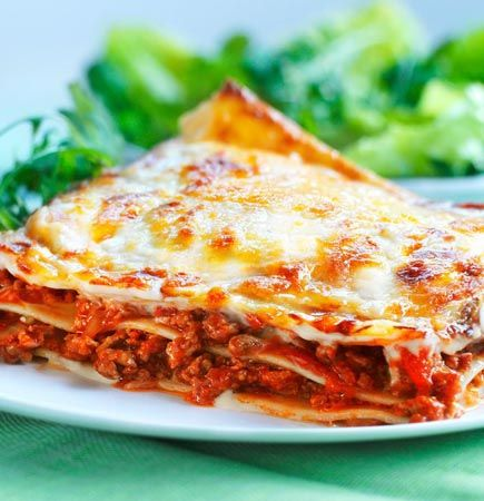 Try this healthier, low in saturated fat Italian lasagne recipe for a tasty take on a classic. Enjoy a low calorie vegetarian version with Quorn Mince.