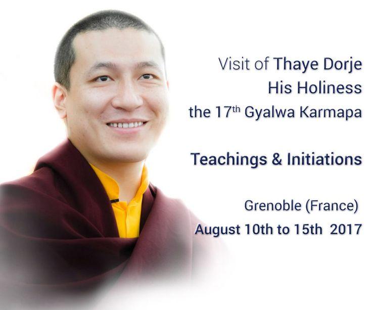102 best 17karmapa thaye dorje images on pinterest buddhism visit of thaye dorje 17th gyalwa karmapa centre dtudes tibtaines de montchardon thecheapjerseys Gallery
