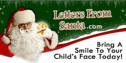 "Imagine The Smile On Your Child's Face When They Open A Real Letter From Santa!  <a href=""http://www.LettersFromSanta.com"">http://www.LettersFromSanta.com</a>"