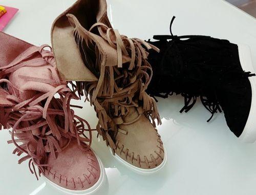 Γυναικεία μποτάκια ανοιξιάτικα με κρόσια  http://handmadecollectionqueens.com/γυναικεια-μποτακια-με-κροσια  #handmade #fashion #boots #footwear #storiesforqueens #women #spring
