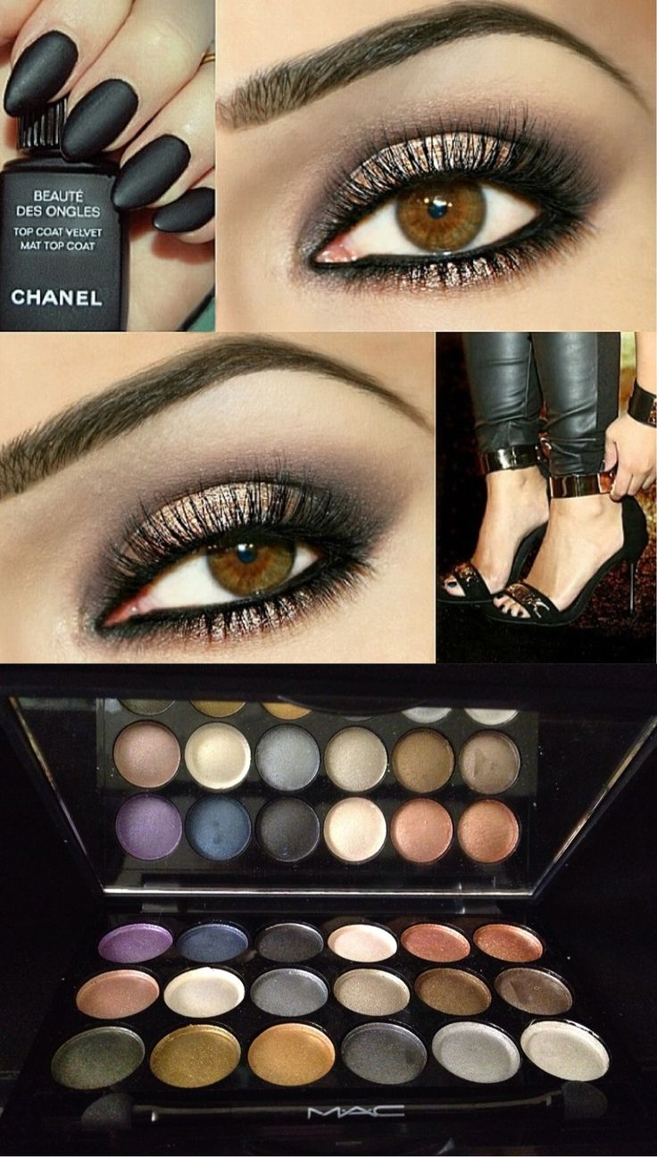 Cute mac makeup, pretty nail colour but don't like the shape of the nails