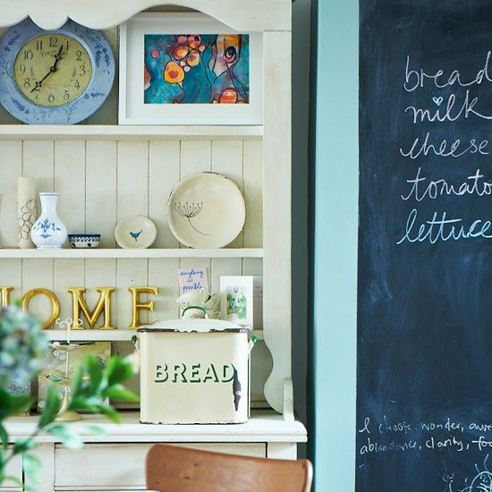 Traditional dresser | Country kitchen ideas