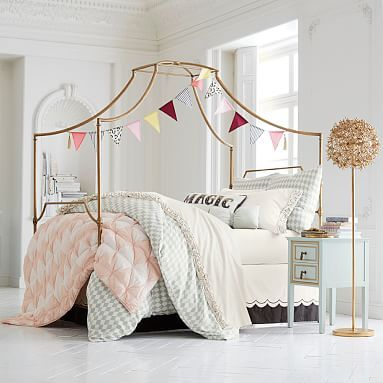 Maison Canopy Bed #pbteen