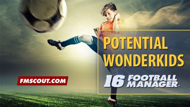Potential FM 2016 Wonderkids - Emerging U19 Football Talents 2015