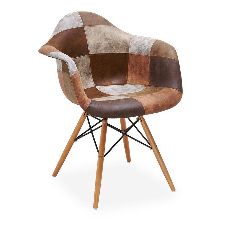 Les 25 meilleures id es concernant chaise en patchwork sur - Chaise qui se balance ...