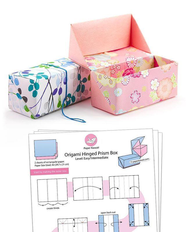 Anweisungen zum Herausziehen der Origami-Schubladen