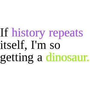 I really will...