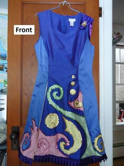 how to make an irish dancing dress with princess seams and kick pleats - Irish Dancer Halloween Costume