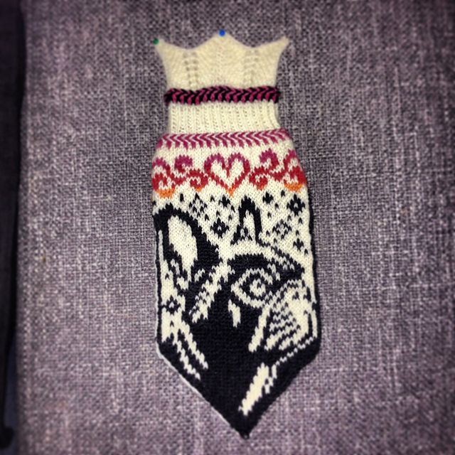 Ravelry: Penny (French bulldog mittens) pattern by JennyPenny