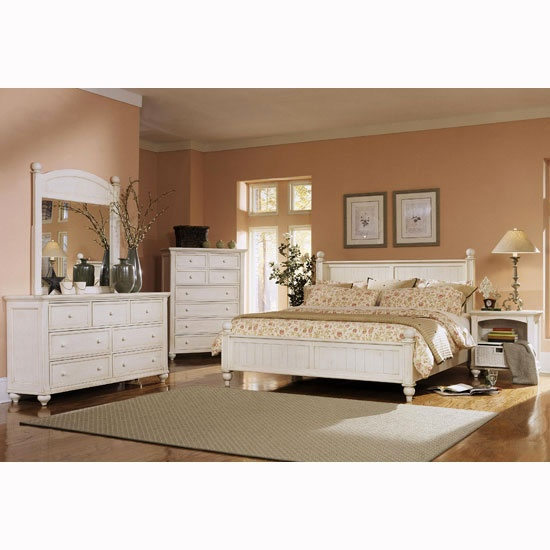 White Bedroom Furniture U2013 A Distinct Look In Country, Antique