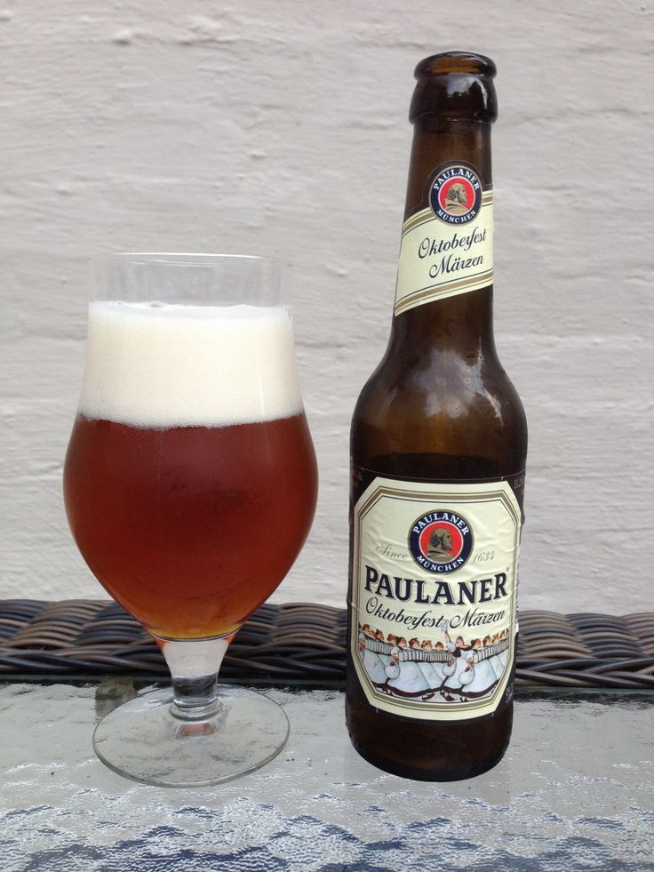 Paulaner Oktoberfest: Day 81: Paulaner Oktoberfest from Paulaner Brauerei. Style of beer is 'Oktoberfest'. ABV is 5.8%. Read more at http://www.beerinfinity.com/beer-of-the-day-paulaner-oktoberfest/.