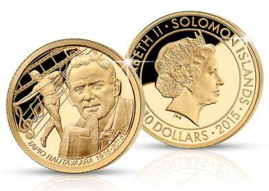 Kultaraha Tapio Rautavaaran kunniaksi! Tapio Rautavaaran muistovuoden johdosta lyötyjä kultarahoja on saatavilla rajoitetusti – varmista siis pian omasi!