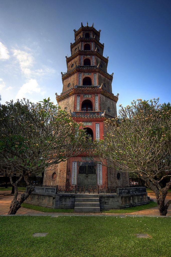 Thien Mu Pagoda, Hue City, Vietnam