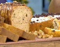 Recetas   Cocineros Argentinos - Panadería - Pan de coco y pan de banana, nuez y dulce de leche