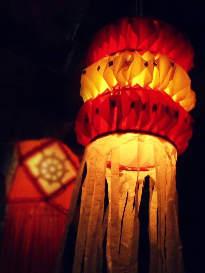 This is the month of Vesak... Vesak lanterns !!!