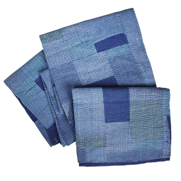 Calm Waters Bedcover - Fair trade bed linen