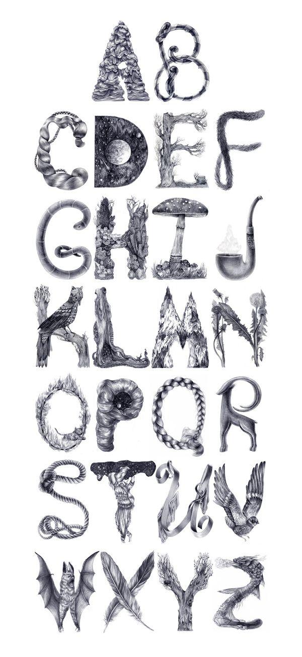 Une sublime typographie du collectif Dopludo                                                                                                                                                     Plus