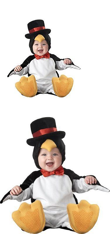 Halloween Costumes Kids: Incharacter Costumes Babys Lil Penguin Costume, Black/White/Yellow, Small BUY IT NOW ONLY: $38.24