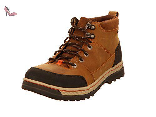 Clarks 261201418, Bottes pour Homme - marron - marron, 45 EU - Chaussures clarks (*Partner-Link)