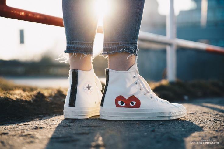 Be My Valentine!  #footshop #converse #commedesgarcons
