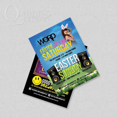 Quinns the printers offers various printing services at cheap rate like leaflet printing,flyer printing,booklet printing,promo cards printing