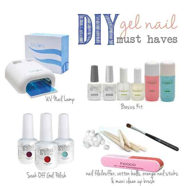 DIY gel nail must haves