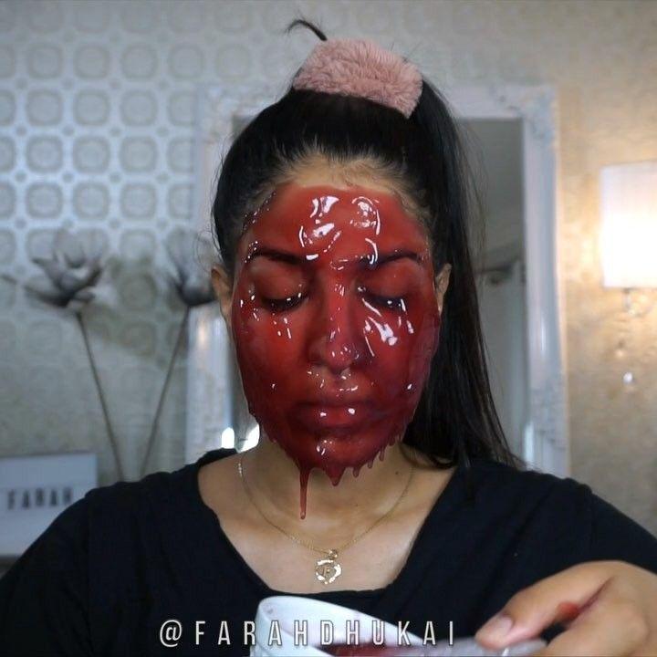 Cette instagrameuse nous prouve qu'on devrait toutes faire des masques pour le visage - Elle
