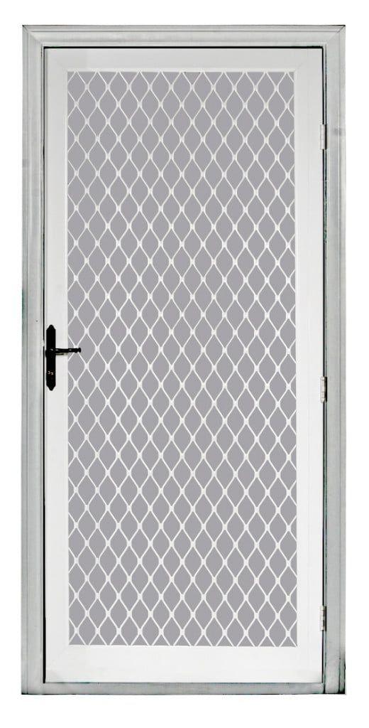 Atlas Swing Security Screen Door In 2019 Aluminum Screen