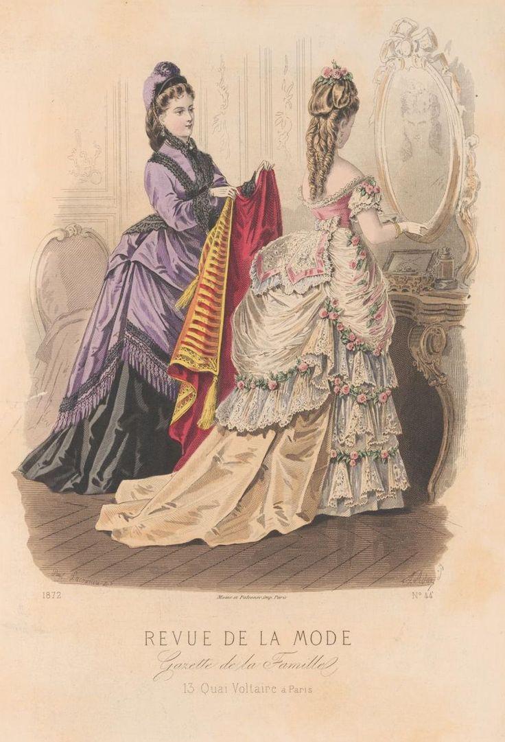 Revue de la mode victorian fashion illustrations pinterest for Revue de www houseplans com