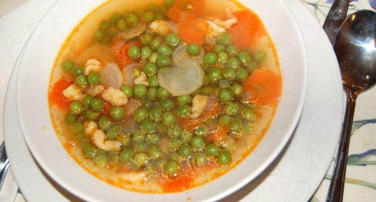 Zöldborsó leves recept | APRÓSÉF.HU - receptek képekkel