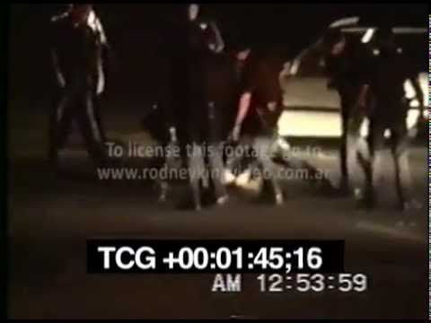 RODNEY KING BEATING VIDEO Full length footage SCREENER - #YouTube #policebrutality #ripRodneyKing