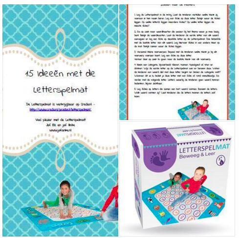 Download gratis 15 lesideeen met de letterspelmat. (Gemaakt door Juf Anke) - http://jufanke.nl/Werkbladen/Ideeen%20met%20de%20lettermat.pdf