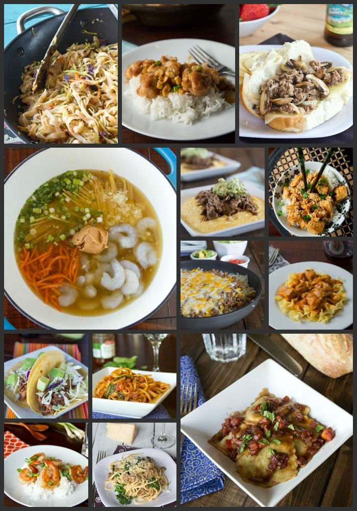 30+ Back to School Dinner Ideas