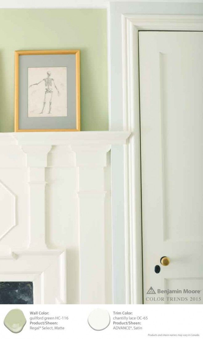 1000 images about a colorful life for 2015 on pinterest for Benjamin moore chantilly lace