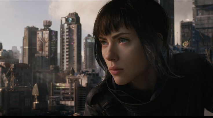 Scarlett Johansson is Major - Ghost In The Shell Review