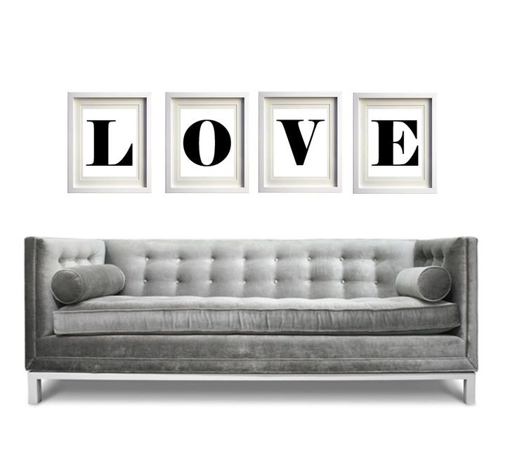 L-O-V-E above couch – #abovecouch #couch #Love