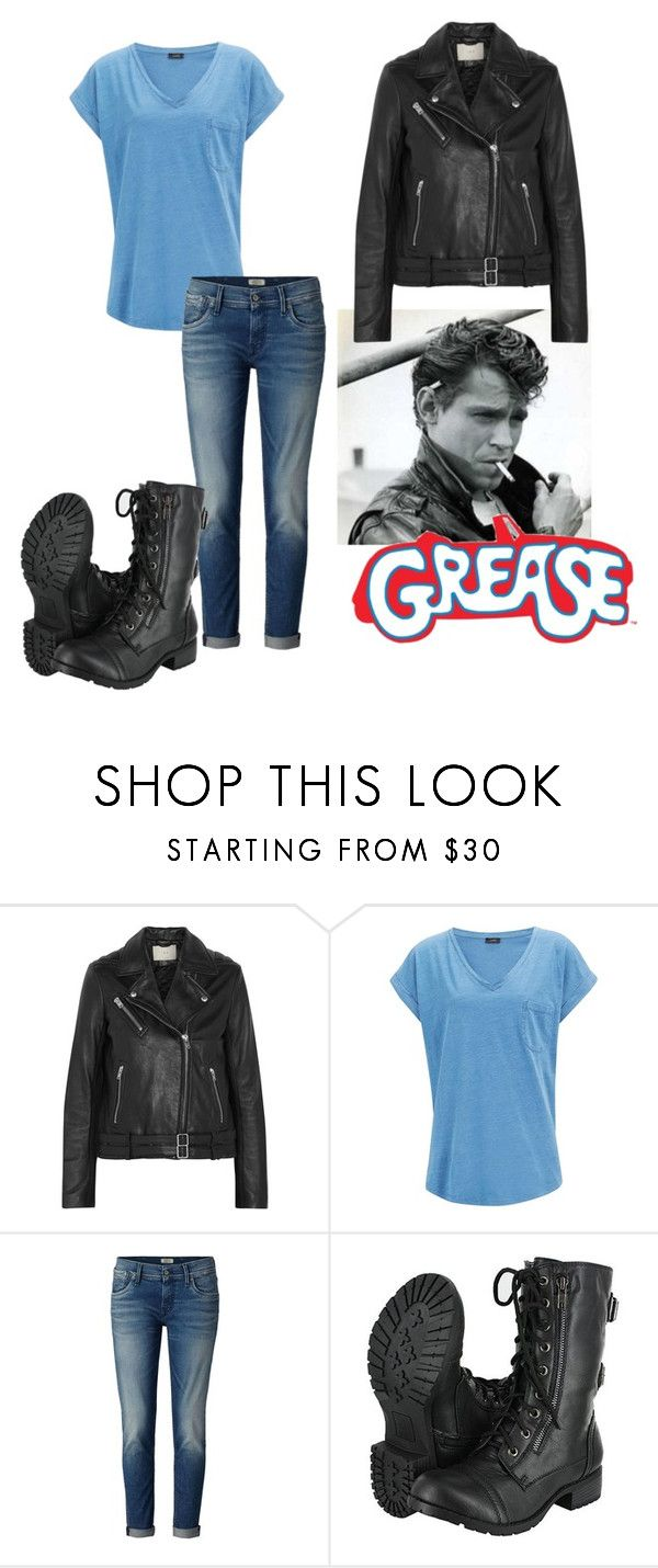 """Grease-Kenickie"" by avengersfreak ❤ liked on Polyvore featuring IRO and Joseph"