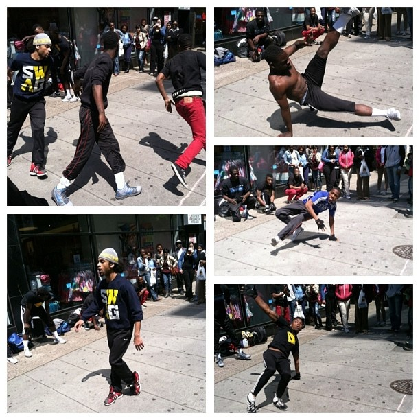 #hiphop during my lunch break today! #dance #move #music #art