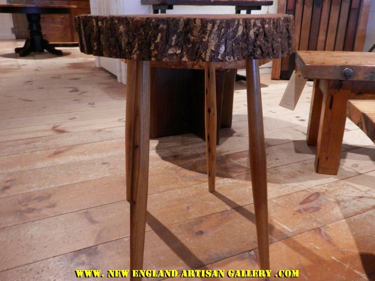 #SP 20 Tree Slab Table This Unique Table Was Created From A Slab Of