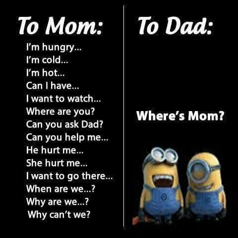 For me it's the other way around. If I said all those things to my mom she'd yell at me