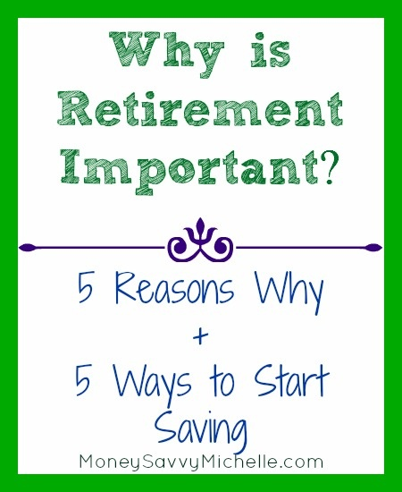 the importance of saving money for retirement Once you've saved at least three to six months' worth of expenses in your emergency fund, you can start saving money in a tax-advantaged retirement account these accounts, such as a roth ira or 401(k), allow you to invest in the stock market if done right, it is possible to earn about 8% per year on average over the long.