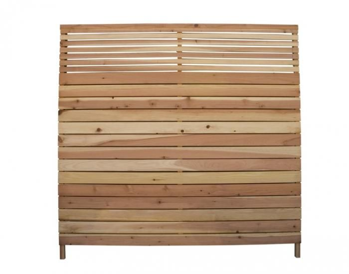 Redwood Flat Top Wood Fence Panel. The panel measures six-by-six feet - 89 Best Images About Fence Panels On Pinterest Lattices, Bamboo