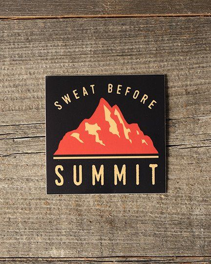 We know you love the wilderness now you can express exactly how you feel with this pack of six adventure themed stickers these stickers are full color