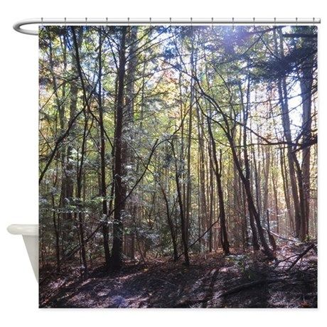 forest scenery Shower Curtain on CafePress.com