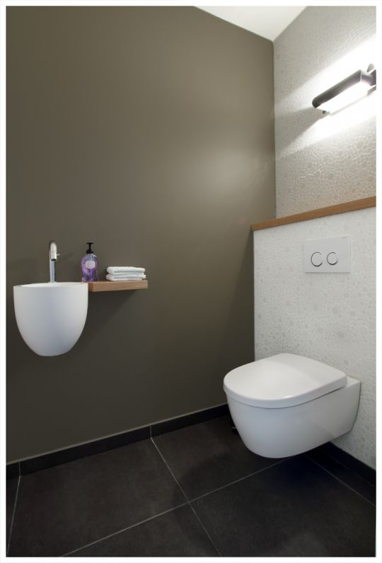 Praktijkruimte osteopaat - Modern - Toilet - Limburg