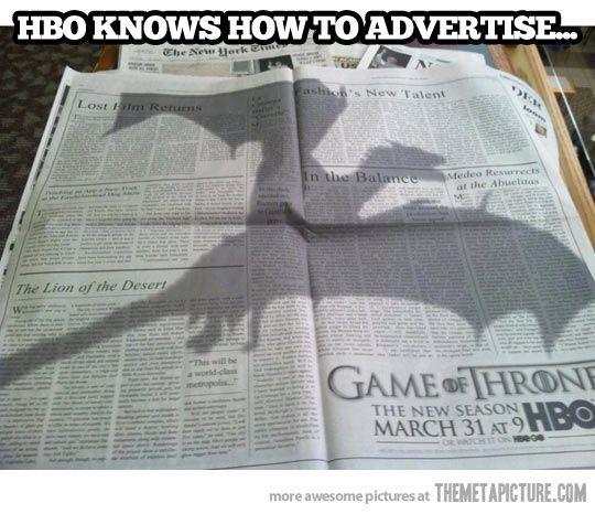 Pretty clever ad…