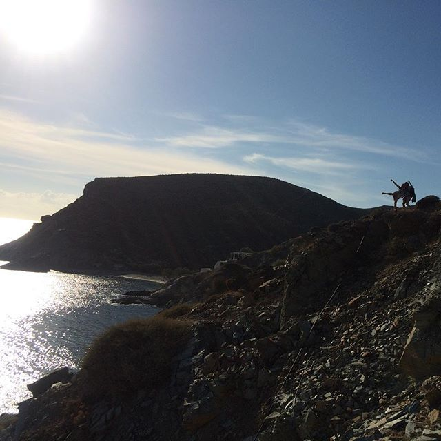 Just follow the sun! #Folegandros Photo credits: @hannaliisa_k