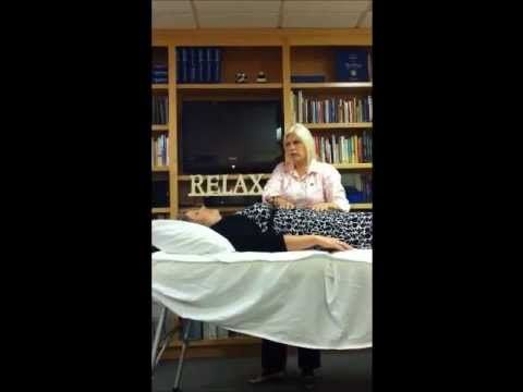 Zilla Adam's Certified Healing Touch Demo